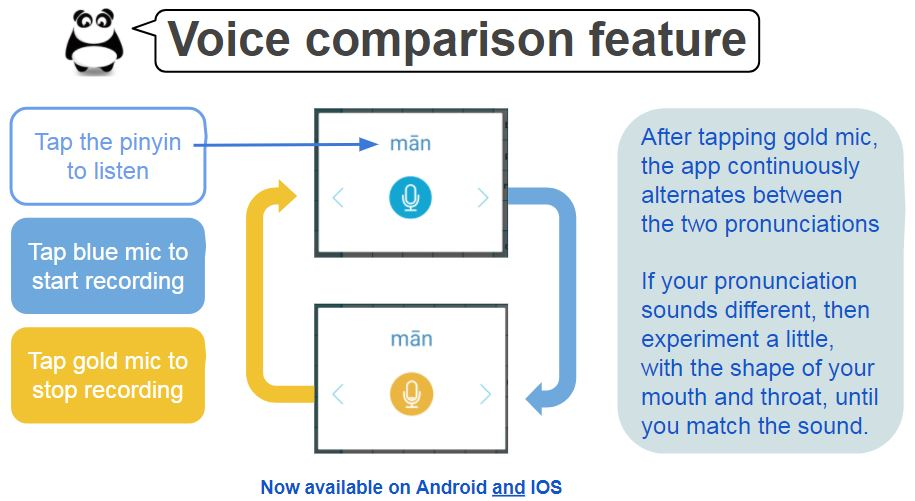 Voice Comparison Tool - Effective Chinese Mandarin Classes