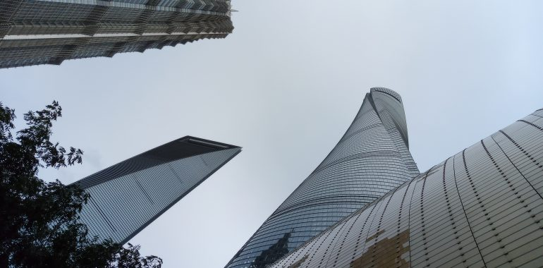 The 3 Sisters of Lujiazui