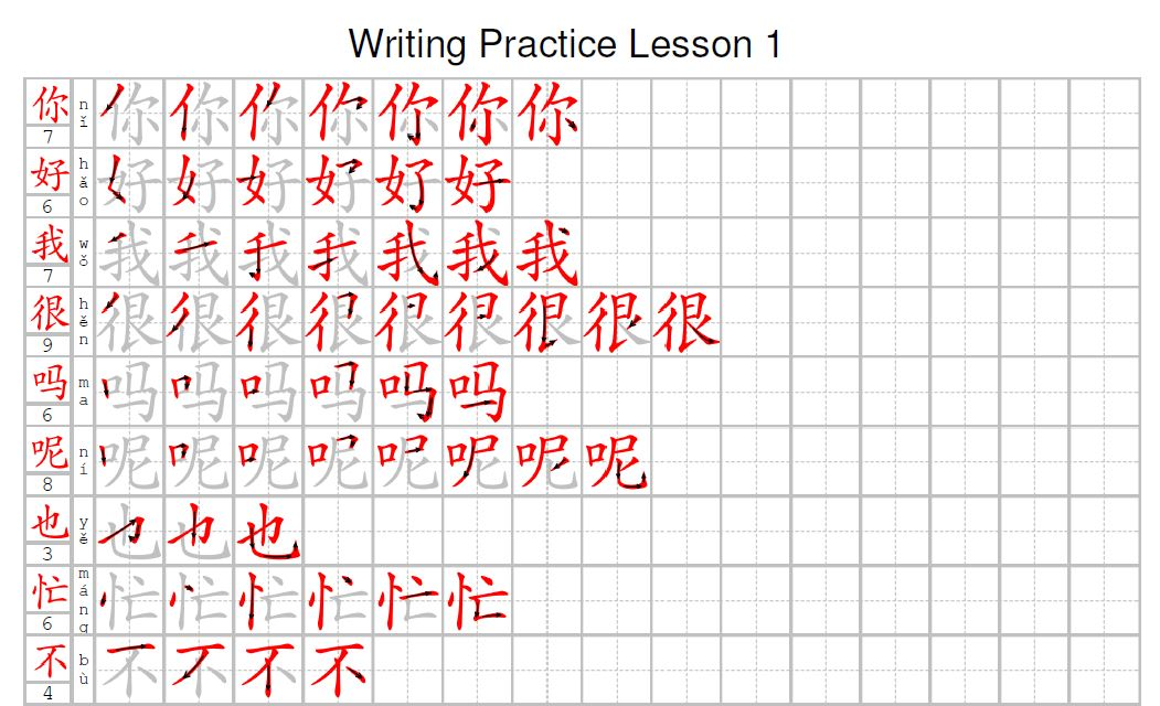 Lesson 1 - Greetings - Effective Chinese Mandarin Classes
